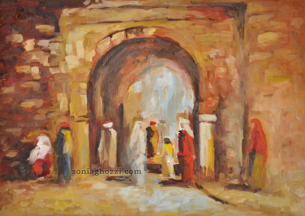 Peintre Tunisien Sonia Ghozzi Mezghanni00047 Sonia