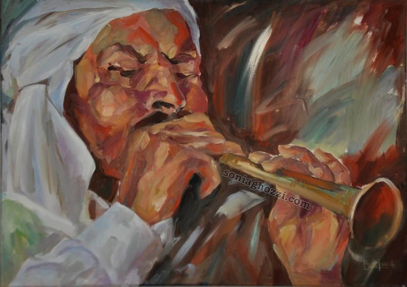 Artiste Peintre Tunisienne Sonia Ghozzi Mezghanni